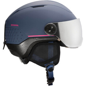 Rossignol Whoopee Impacts Casque Visière Adolescents, blue/pink